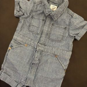 Baby Gap one-piece shorts outfit - size 3-6mos
